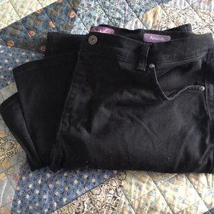 Black women's jeans. Size 16W